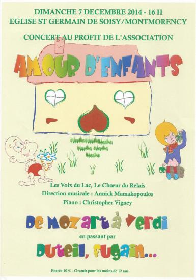 Affiche amour denfants 2015
