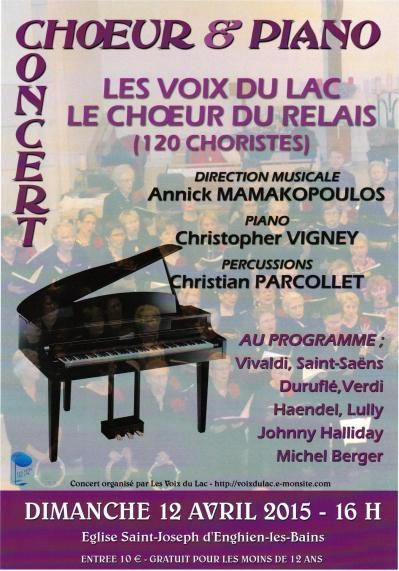 Affiche concert enghien 2015