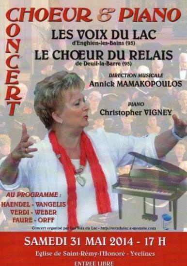 Affiche concert st remy 2