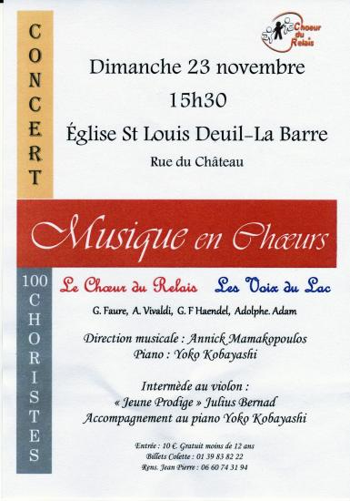 Concert deuil 2014